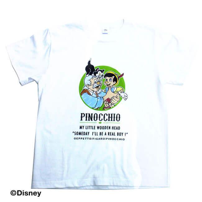 ピノキオ 半袖Tシャツ全体