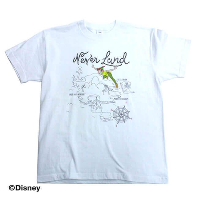 ピーター・パン 半袖Tシャツ全体