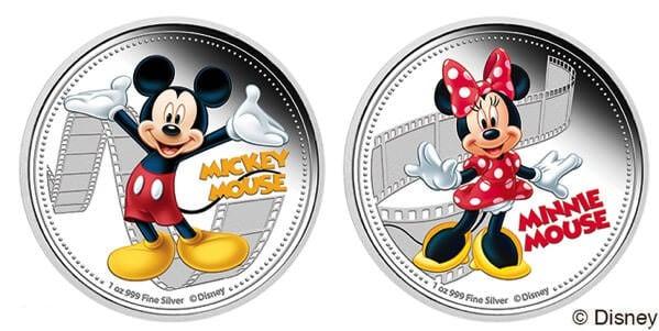 ~ミッキー&フレンズ~ 2ドルカラー銀貨コレクション