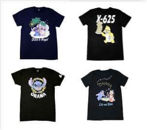 スティッチ半袖 Tシャツ(4種)