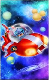 """""""Stitch Space Rescue"""""""