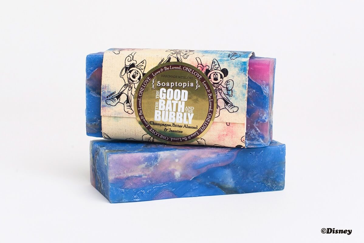 Ron Herman限定 Disney Soaptopia Soap GOOD BATH BUBBLY FANTASIAパッケージ
