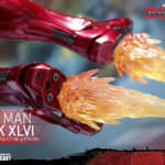 『シビル・ウォー/キャプテン・アメリカ』16スケールフィギュア アイアンマン・マーク46 (1)