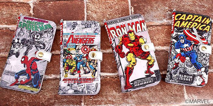 iPhone6s6専用「Marvel Comics ダイアリーケース」 (4)