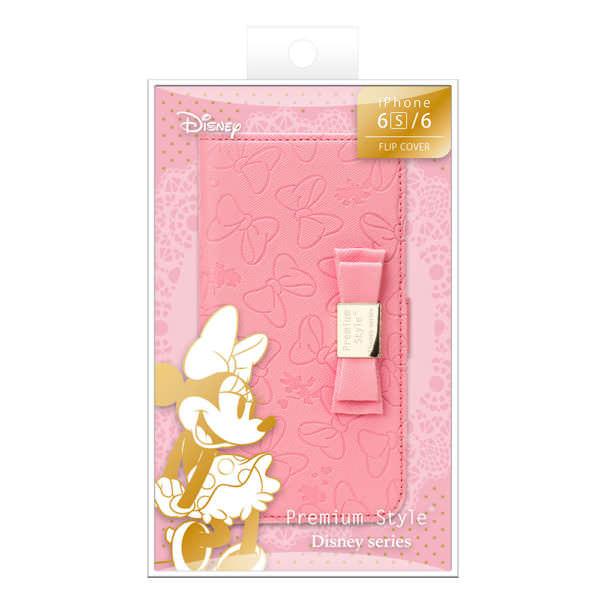 ミニーマウス ディズニー「Premium Style(R)」シリーズ iPhone 6s/6用 フリップカバー (8)