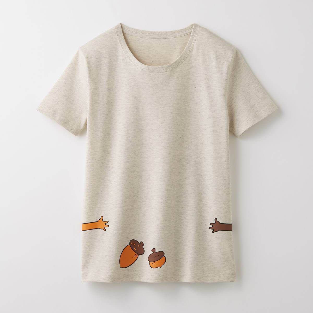 ベルメゾン つながるTシャツ チップとデール