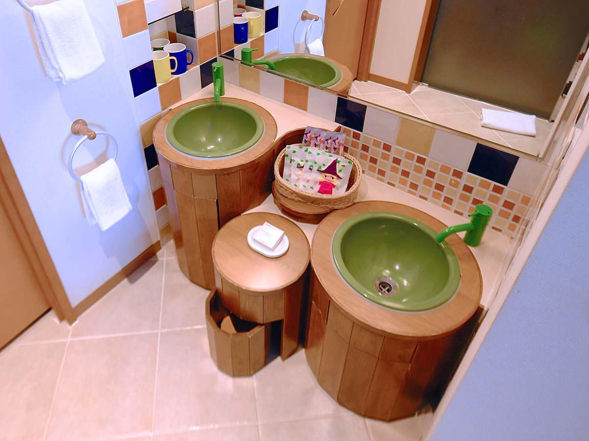 キッズルーム 洗面所