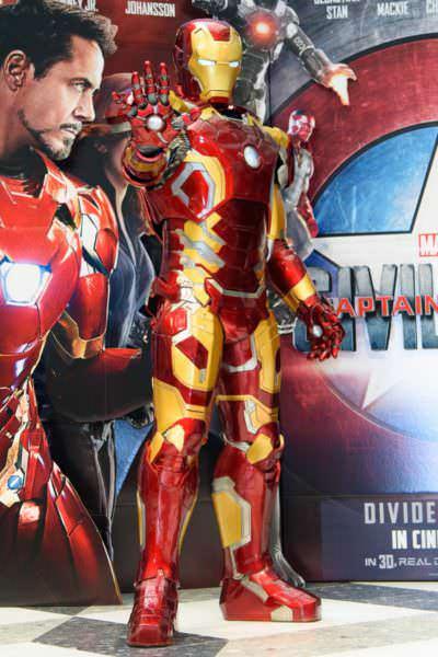 アイアンマン&キャプテン・アメリカ フォトシューティング マーベルヒーローズフェスタ (1)