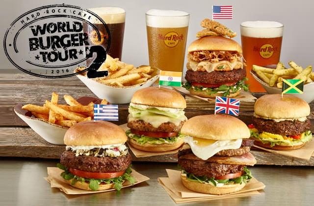 「ハードロックカフェ」 ワールドバーガーツアー