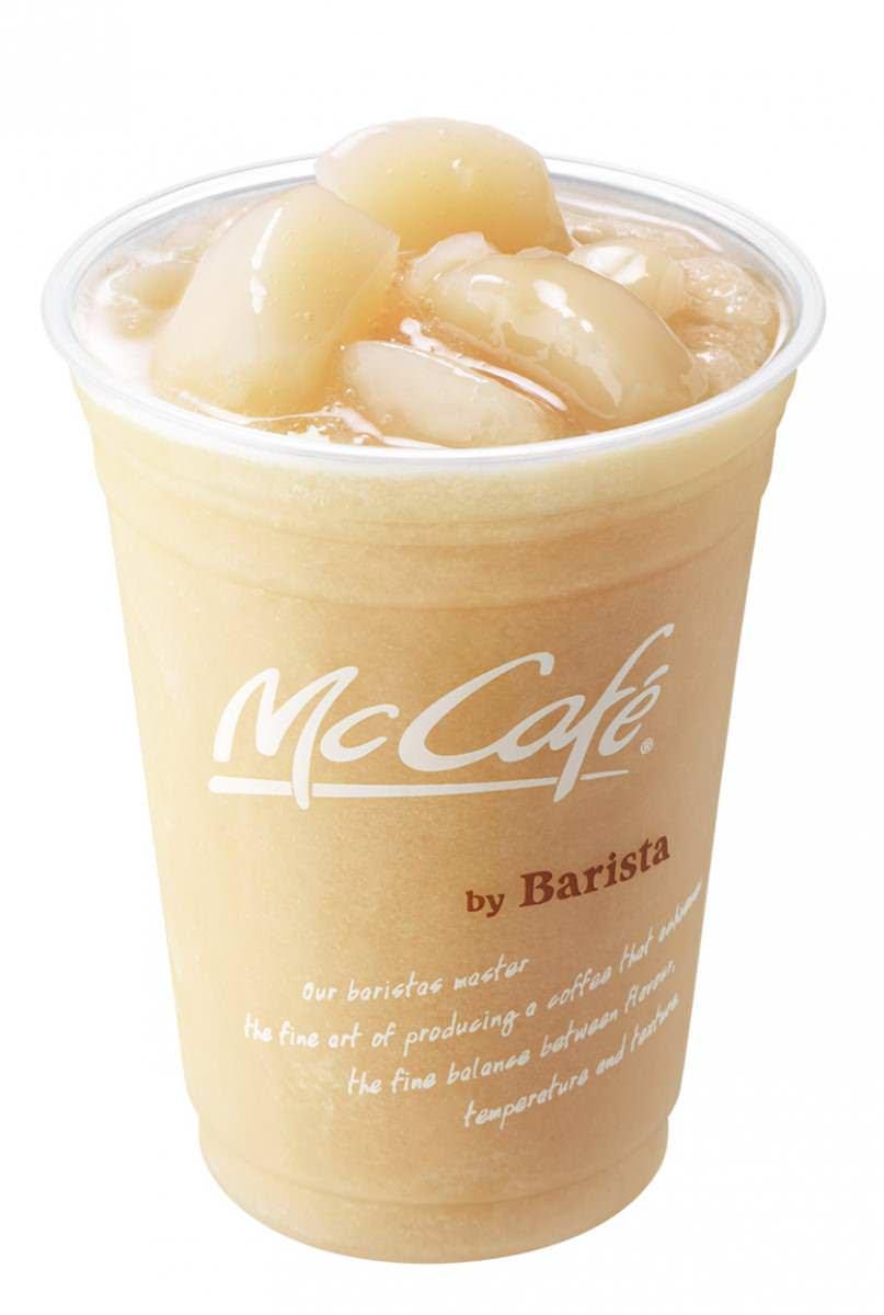 マクドナルドMcCafe by Barista「桃のスムージー」 (1)