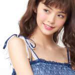 マリン2WAYミディワンピース(ミッキー&ミニー&ドナルドver.)ネイビー肩
