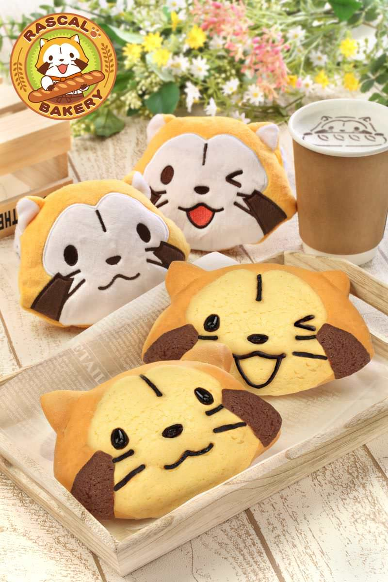 BAKERY CAFE CHARABREAD(ベーカリーカフェ キャラブレッド) 「あらいぐまラスカル」パン