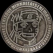 プレミアムメダル NARUTO
