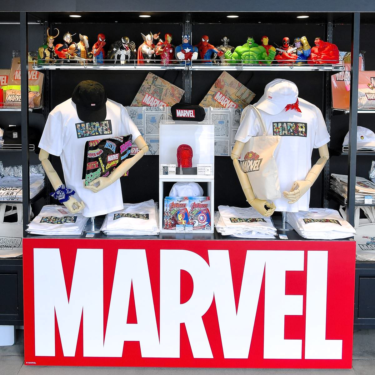 有楽町ロフト「MARVEL GOODS COLLECTION」