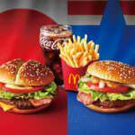 マクドナルド45周年記念ハンバーガー