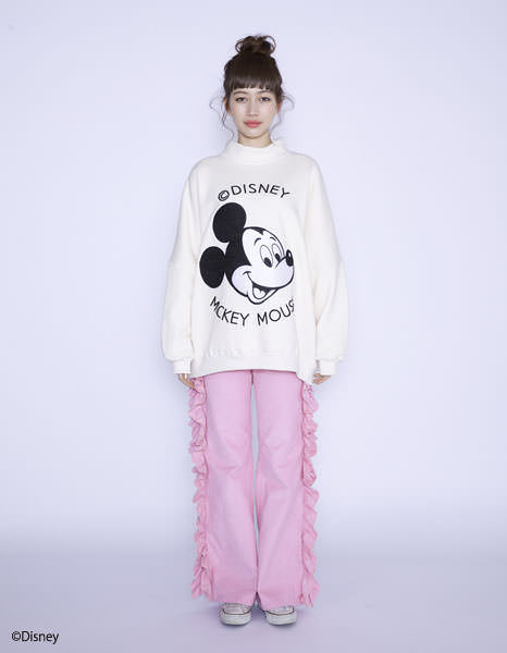 Disney ★ little sunny bite - mickey mouse : high neck top