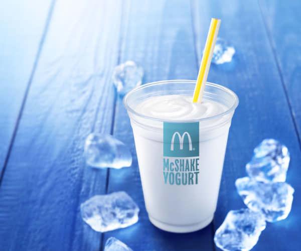 「マックシェイク ヨーグルト味」商品画像