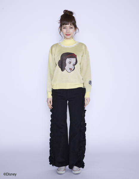 Disney ★ little sunny bite - snow white : knit top
