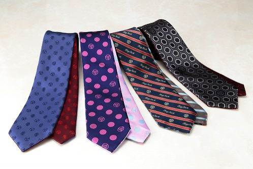 SILK NARROW TIE TONY STARK Mark.1~4