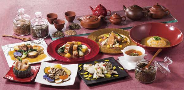 オリエンタルホテル東京ベイ「中国茶で楽しむ秋の中華名菜」