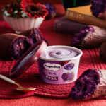 ハーゲンダッツ「紫いも」1
