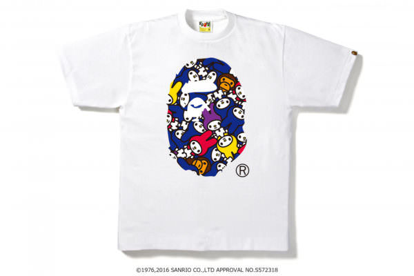 MY MELODY APE HEAD TEE
