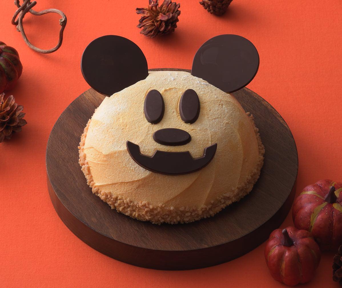 JOYJOYハロウィン パンプキンケーキ(ミッキーマウス)