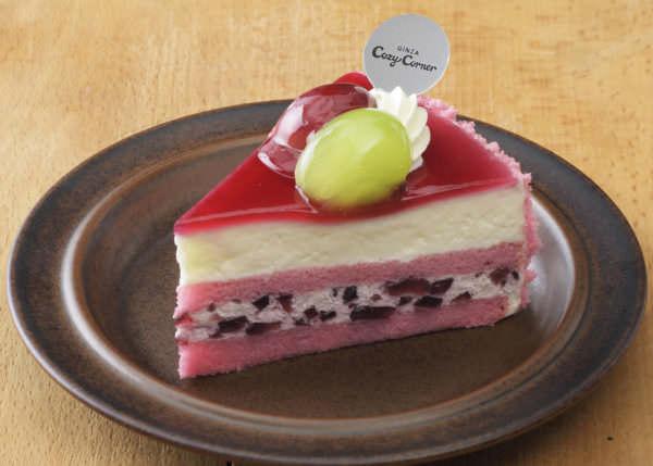 銀座コージーコーナー「ぶどうのケーキ」
