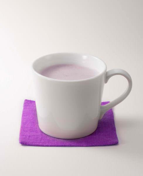 デニーズ「紫芋ミルク」