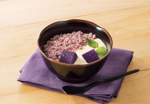 デニーズ「紫芋と黒ごまのティラミス風」