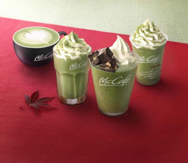 マックカフェ「抹茶シリーズ」