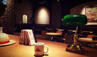 ワンピースタワー「Cafe Mugiwara」