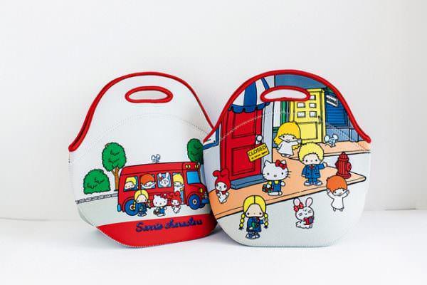 サンリオキャラクターズ70s 保温素材トートバッグ付き 懐かしイラストBOOK