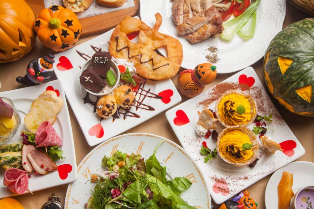 アリスのファンタジーレストラン「ハロウィンフェアイメージ」