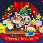 クリスマスを楽しむウッディやエイリアンたち!バンプレスト トイ・ストーリー ワールドコレクタブルフィギュア CHRISTMAS TOYS!