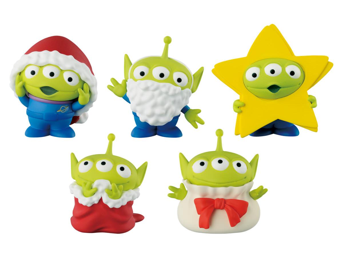 トイ・ストーリー ワールドコレクタブルフィギュア CHRISTMAS TOYS!-ALIEN ver.-