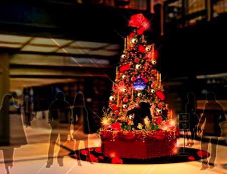 クリスマスツリー(B2F)