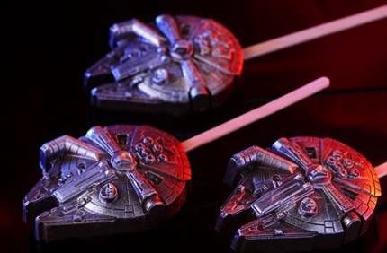 Star Wars Millennium Falcon (Chocolate Stick)