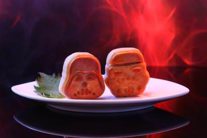 Star Wars Baked Yunnan Ham and Assorted Nuts Puff (2 pcs)