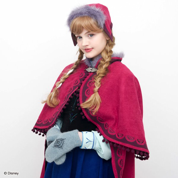 North mountain mantle & Hat & Grove Set (Frozen Anna ver.)アップ