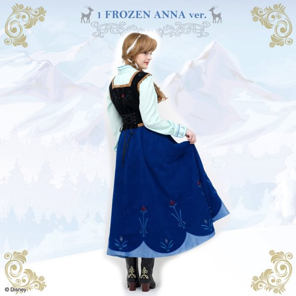 North mountain dress (Frozen Anna ver.)