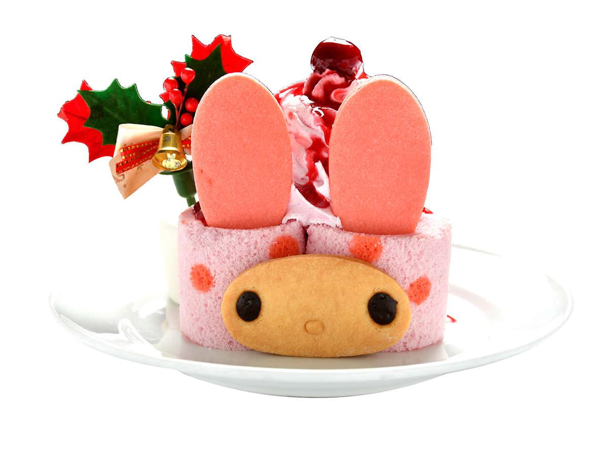 マイメロディのミニロールケーキ