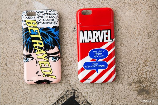 MARVEL JEALOUS PHONE CASE (MOUSSY) RED/MULTI ¥2,980+tax