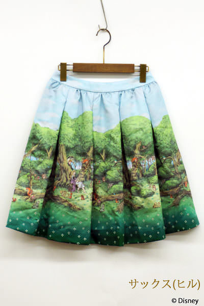 眠れる森の美女スカート