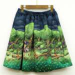 スカート(眠れる森の美女) ネイビー バック