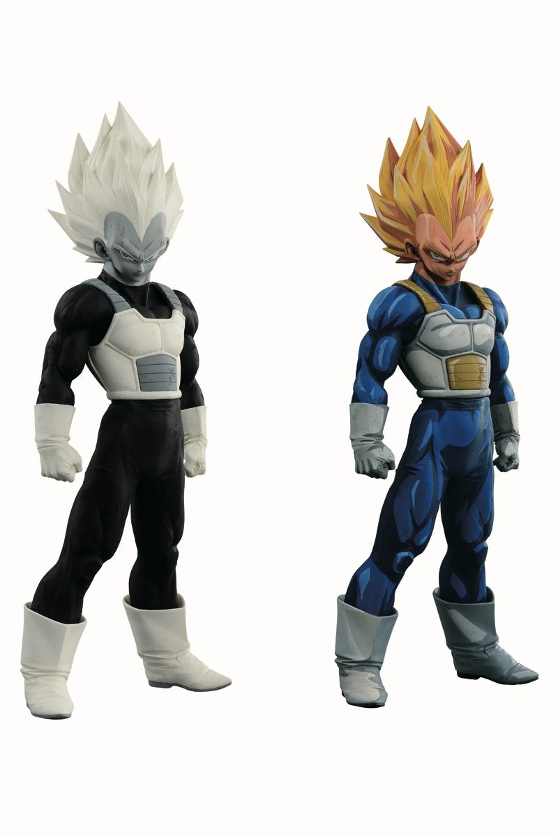 「アミューズメント一番くじ DRAGONBALL超 SUPER MASTER STARS PIECE THE VEGETA」モノクロ
