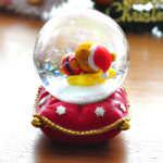 リラックマクリスマススノードーム(寝転がり)