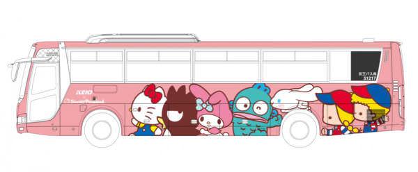空港連絡バス『サンリオピューロランド号』