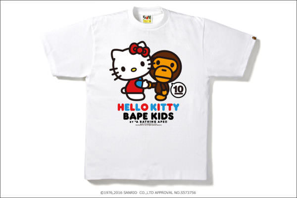 BAPE KIDS® x HELLO KITTY / MY MELODY