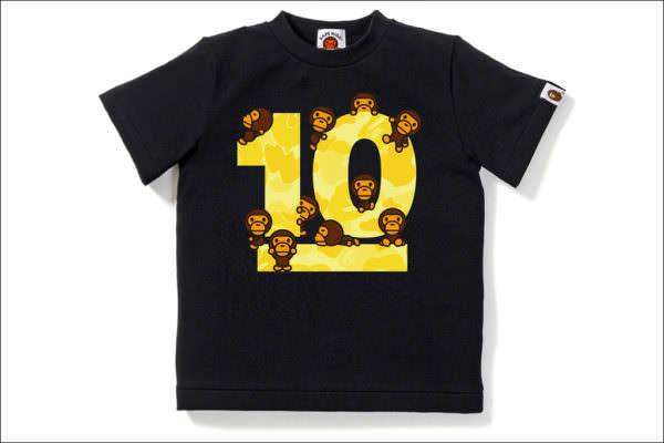 BABY MILO®10周年限定デザインTシャツ